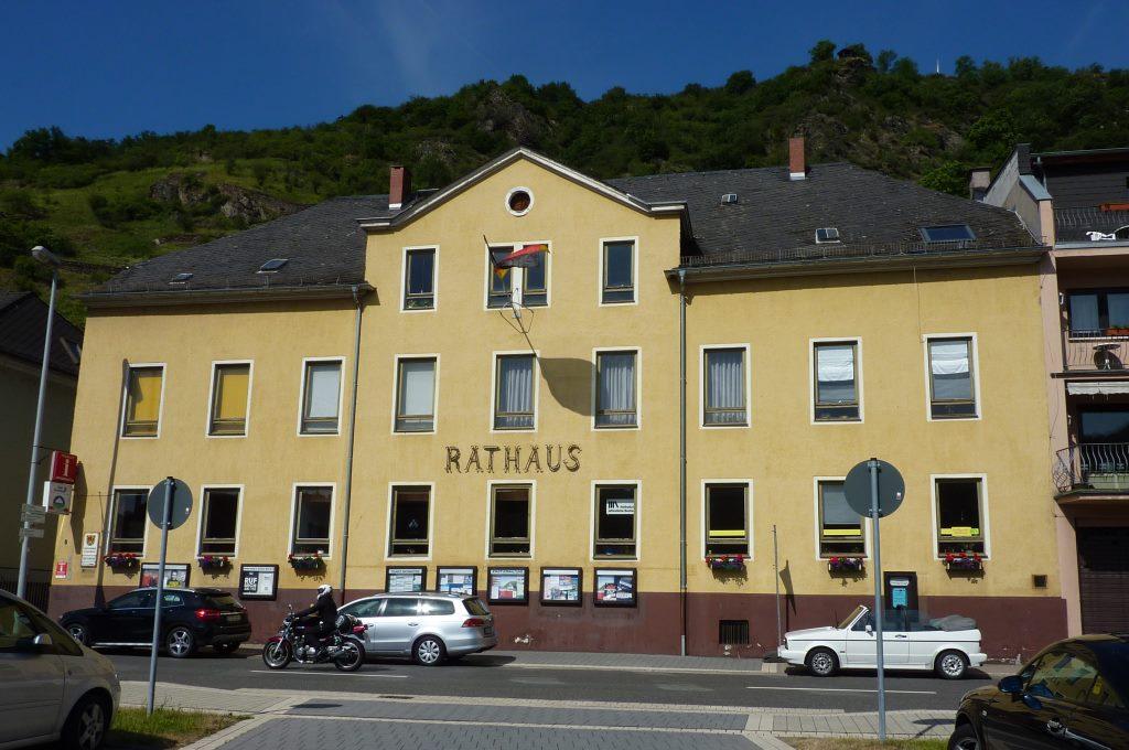 Gebäude Rathaus Sankt Goarshausen